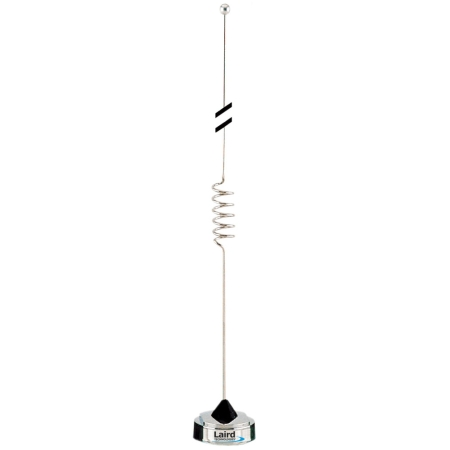 806-866 3dB Open Coil Antenna, Chrome