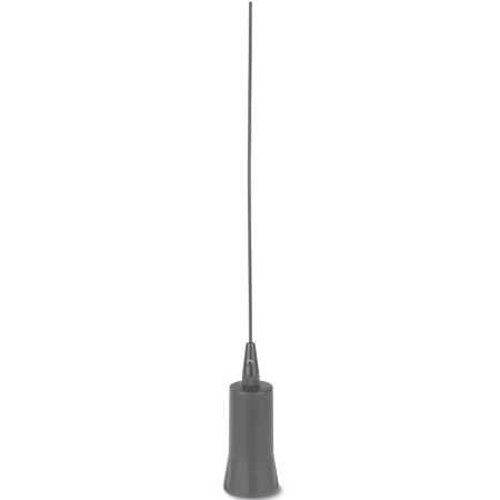 30-34 MHz Base Loaded 1/4 Wave Antenna, Chrome